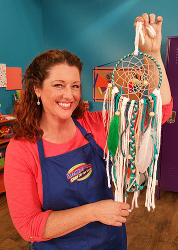 Make a Dream Catcher on Hands On Crafts for Kids.